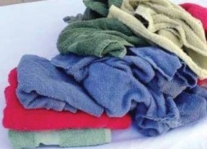 Terry Towel Cotton Cleaning Rags